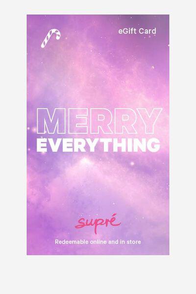 eGift Card, Supre AU Christmas