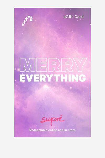 eGift Card, Supre AU Christmas
