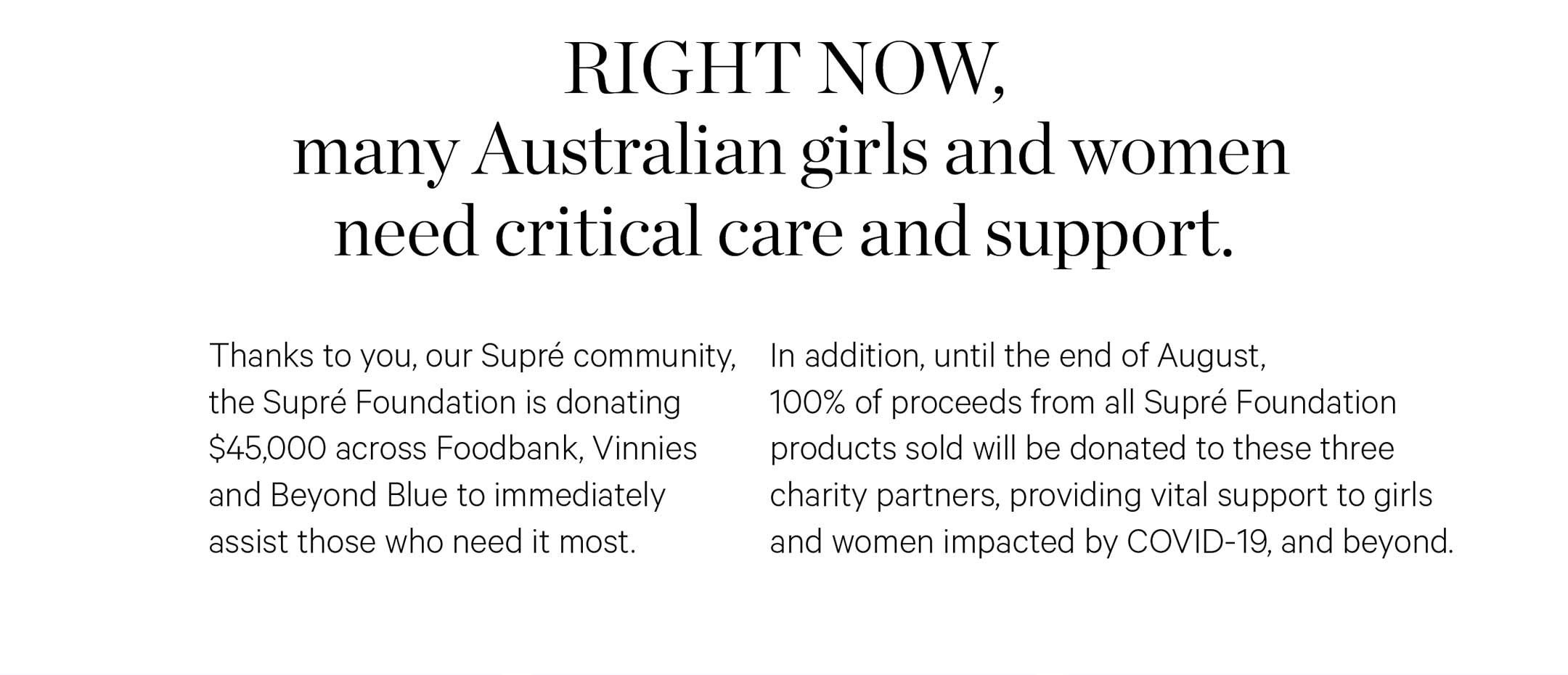 Care & Support To Girls & Women