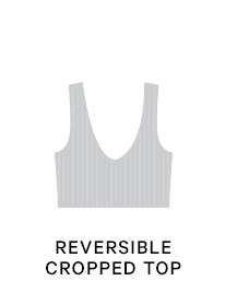 Shop Seamless Reversible Cropped Top