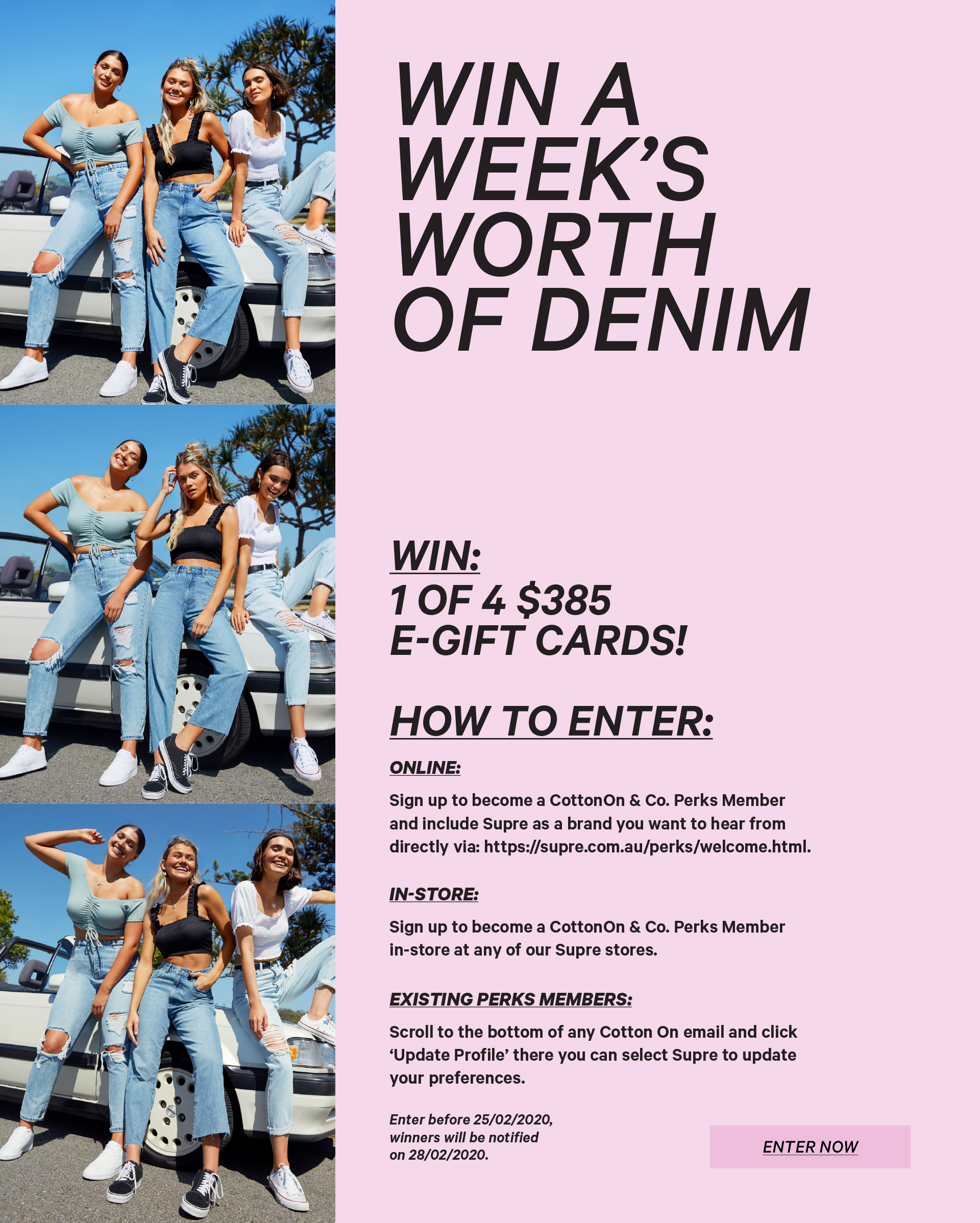Sign Up Now For a Chance To Win