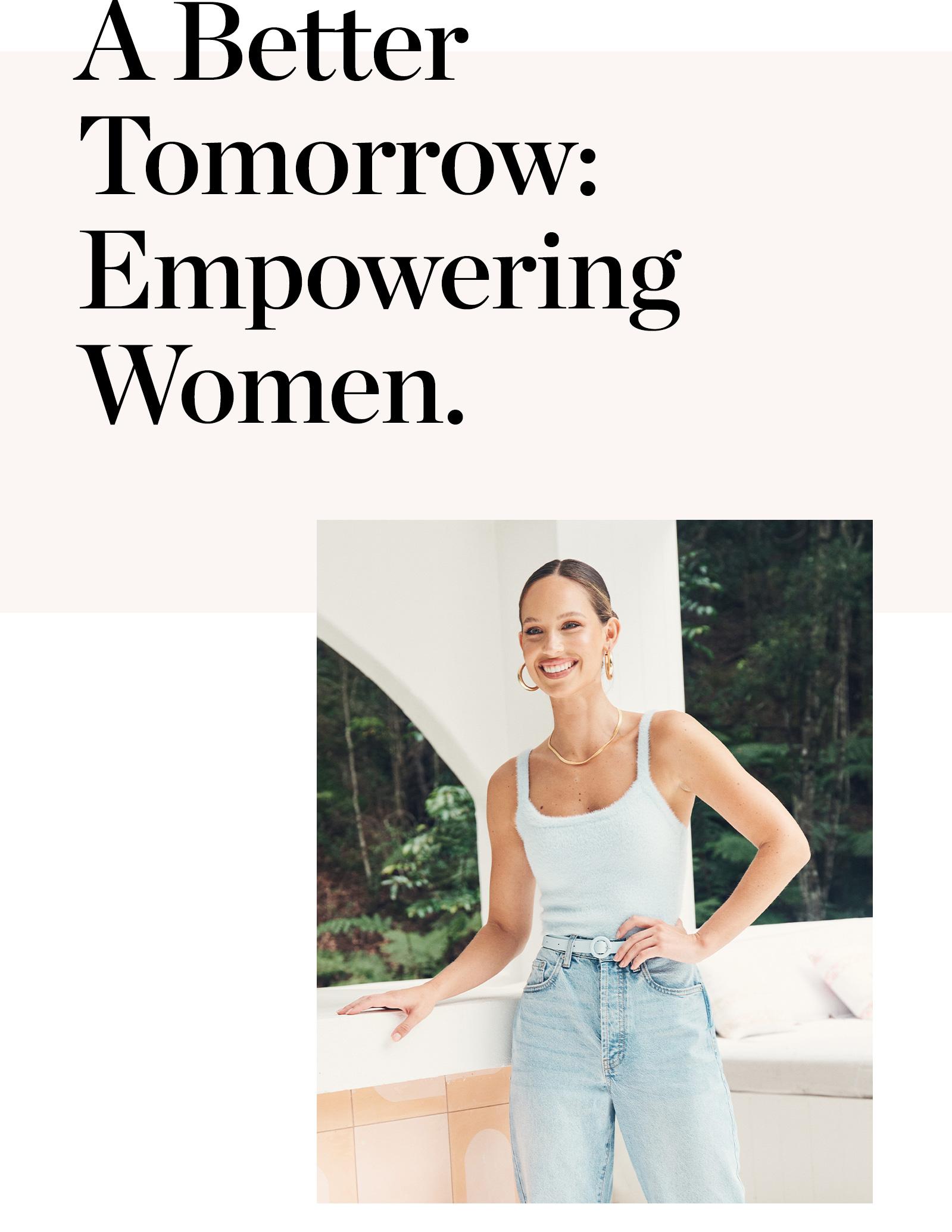 A Better Tomorrow - Empowering Women