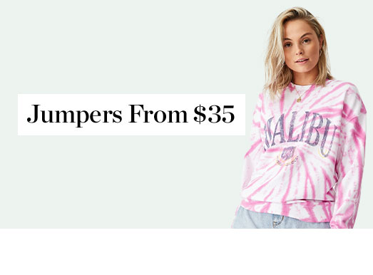 Shop Jumpers From $35