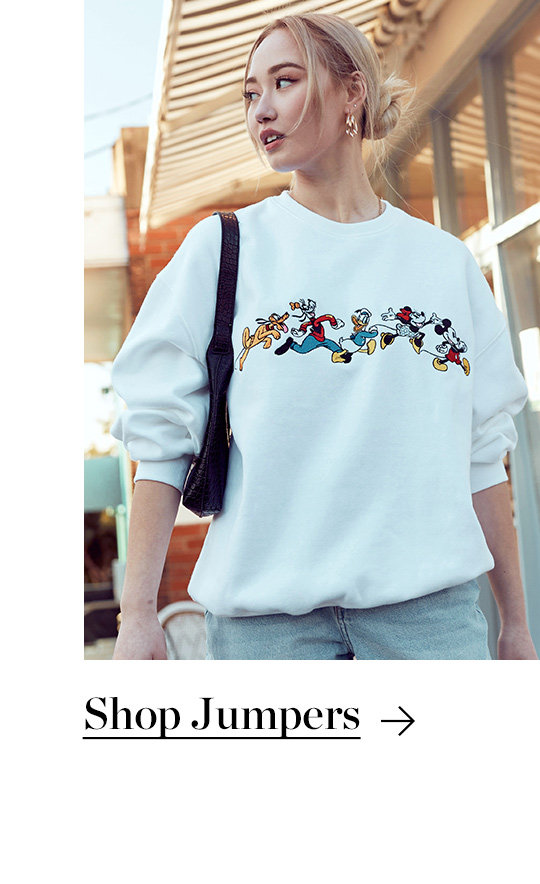 Shop Jumpers. Oversized and Cropped Jumpers, Hoodies & Crews